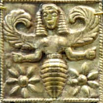 Bee Goddess plaque from Rhodes
